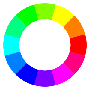 Espectro de colores complementarios